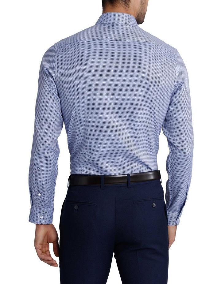 'Brady' Open Weave Check Business Shirt image 4