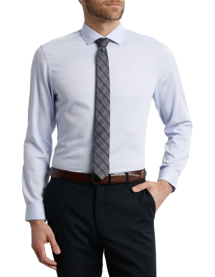 BLAQ Tailored Fit Light Blue Royal Oxford image 1