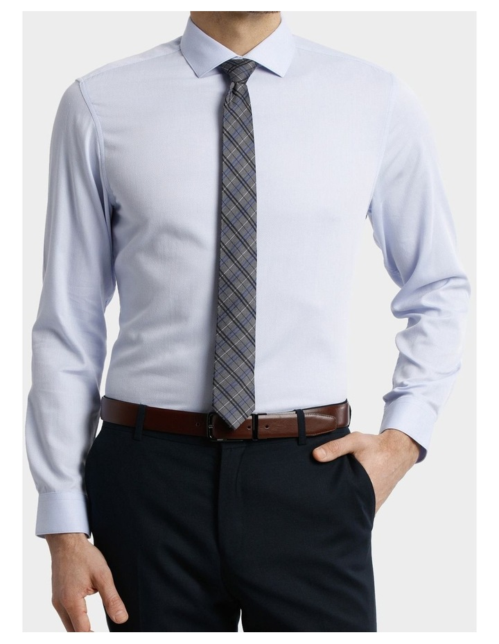 BLAQ Tailored Fit Light Blue Royal Oxford image 2
