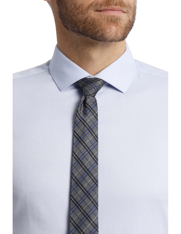 BLAQ Tailored Fit Light Blue Royal Oxford image 4