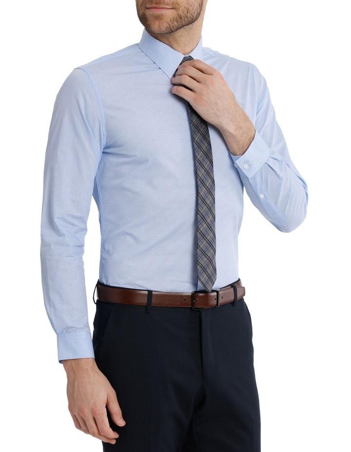 Slim Fit Half Moon Print Business Shirt image 4