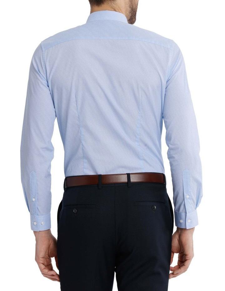 Slim Fit Half Moon Print Business Shirt image 6