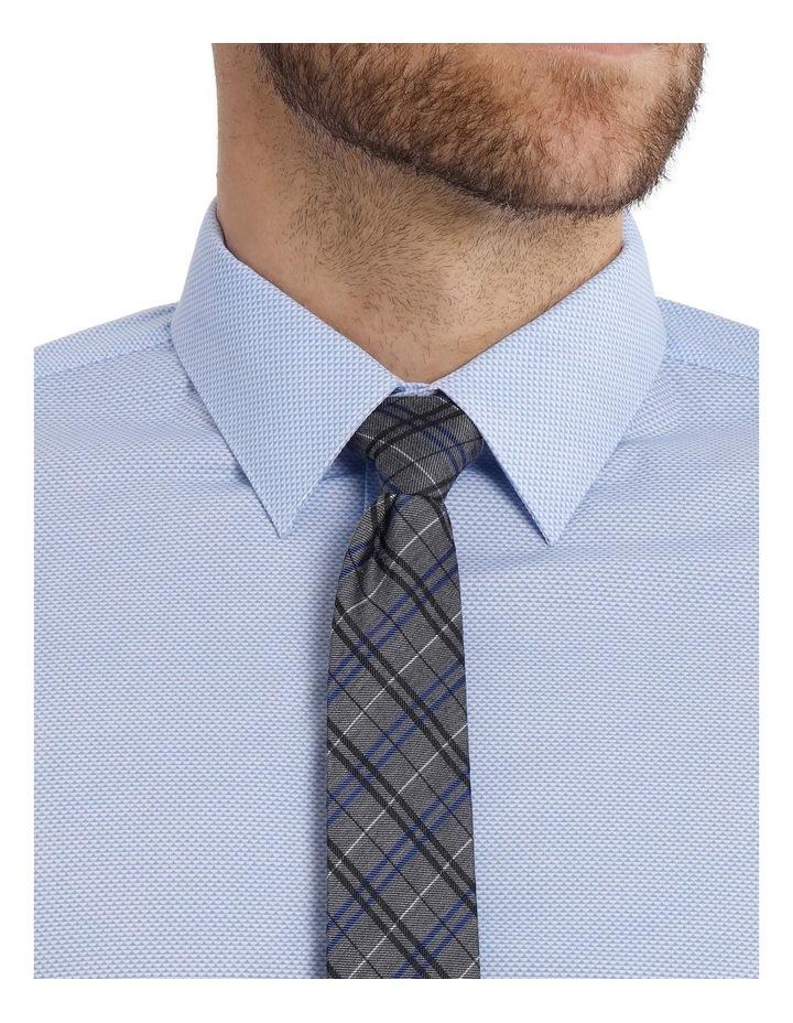 Slim Fit Half Moon Print Business Shirt image 8