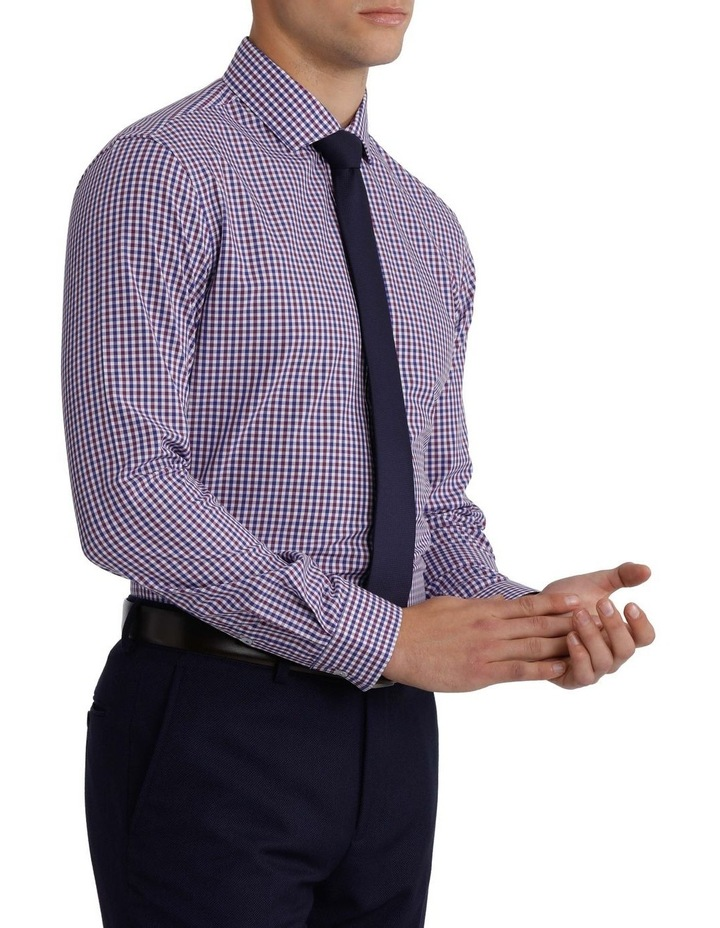 Slim Fit Gingham Check Shirt image 2