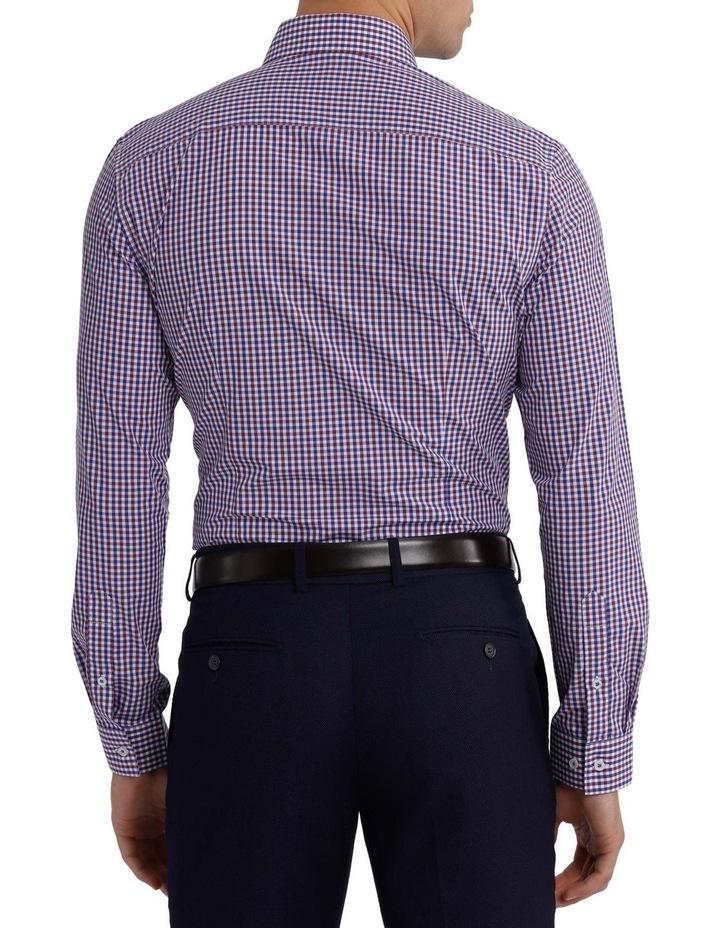 Slim Fit Gingham Check Shirt image 3