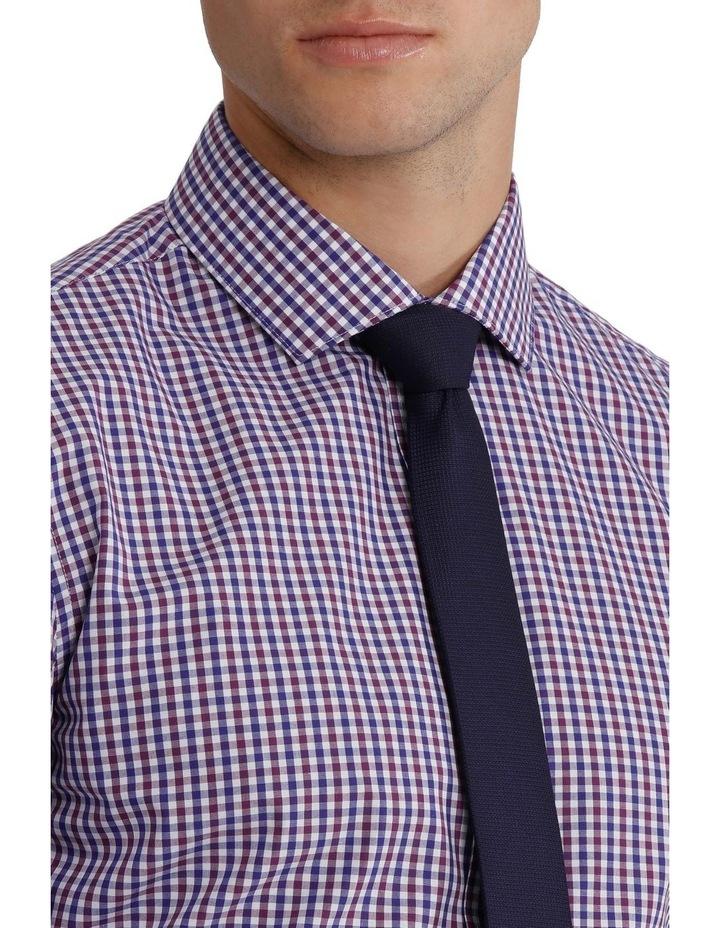Slim Fit Gingham Check Shirt image 4