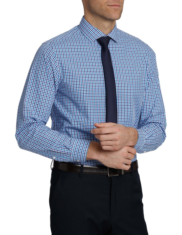 Tailored Fit Gingham Business Shirt image 2