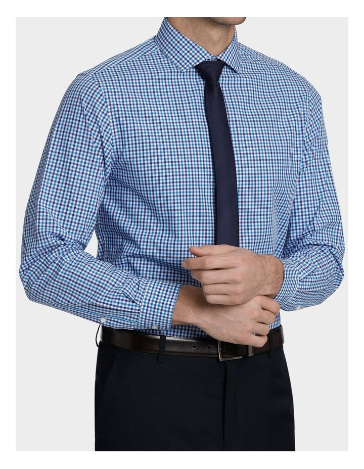 Tailored Fit Gingham Business Shirt image 4