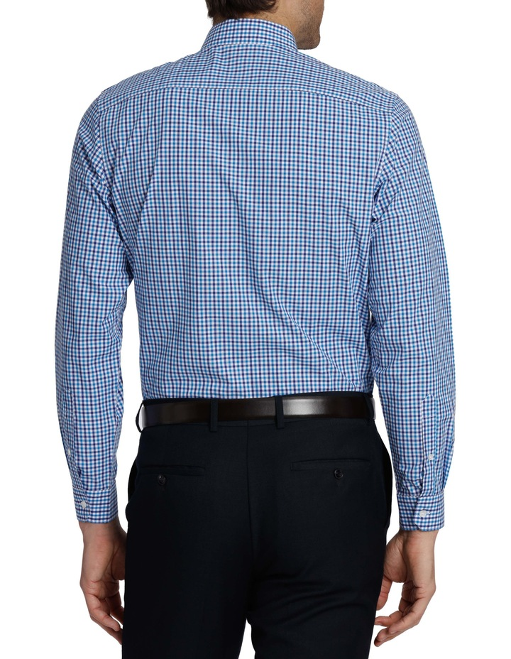 Tailored Fit Gingham Business Shirt image 3