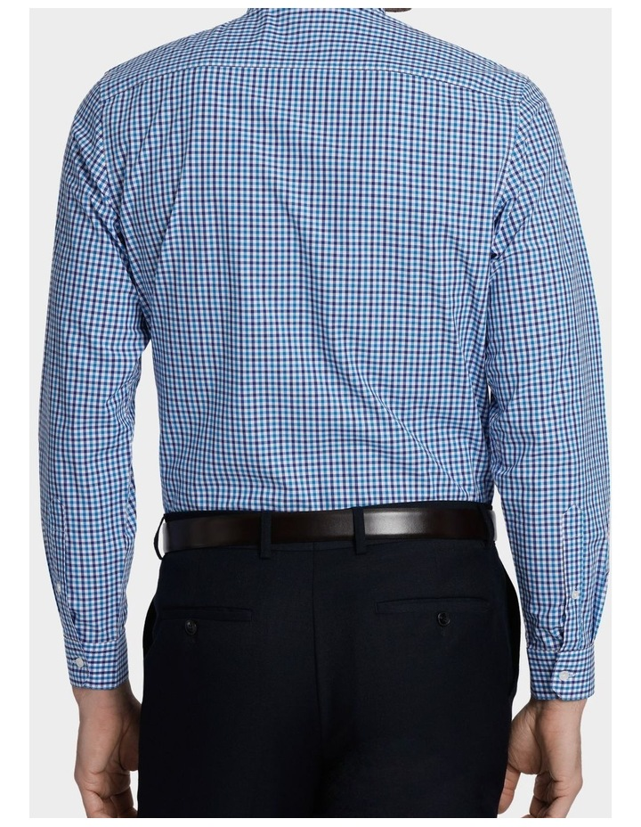 Tailored Fit Gingham Business Shirt image 6