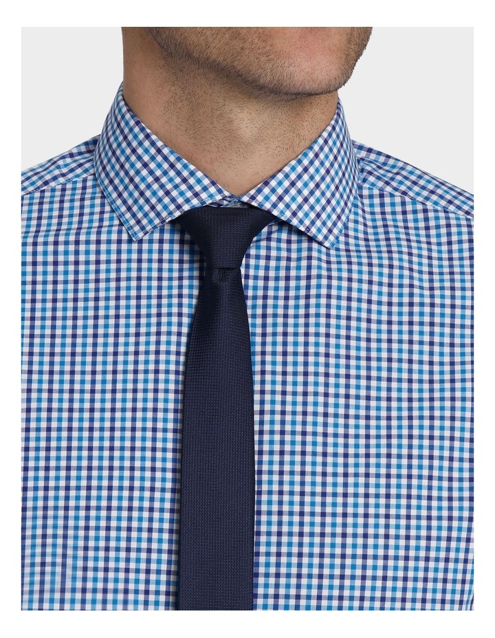 Tailored Fit Gingham Business Shirt image 8