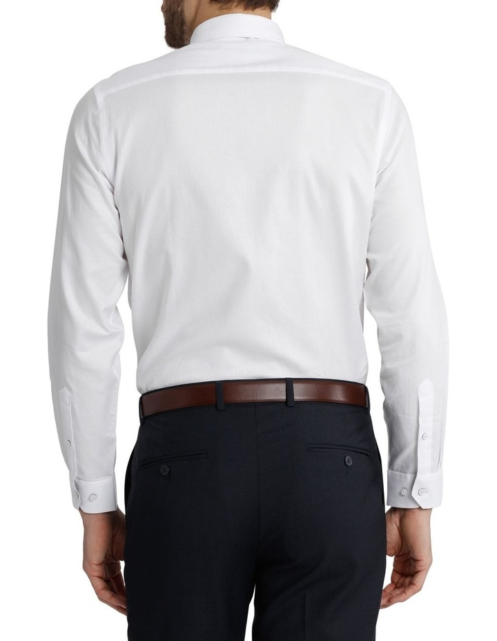 Blaq Tailored Fit White Damod Texture image 6