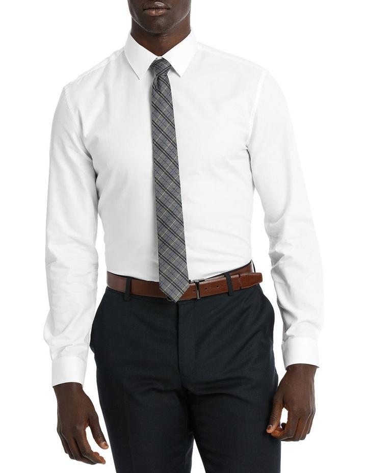 Slim Fit White Twill image 1