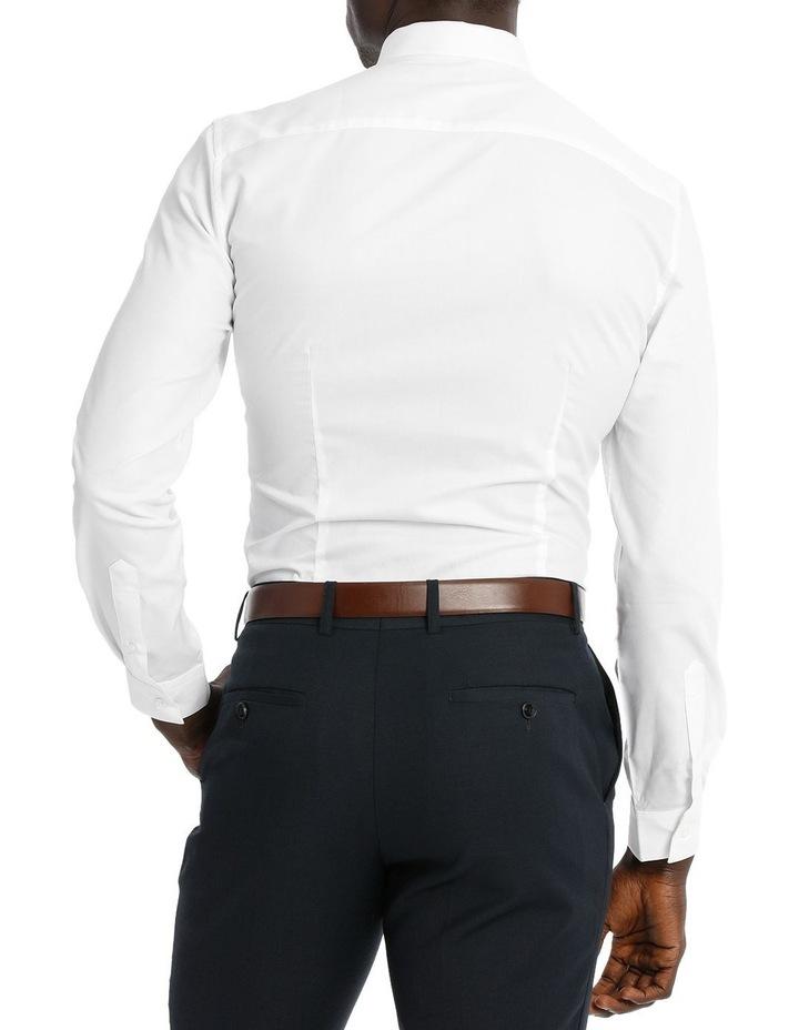 Slim Fit White Twill image 3