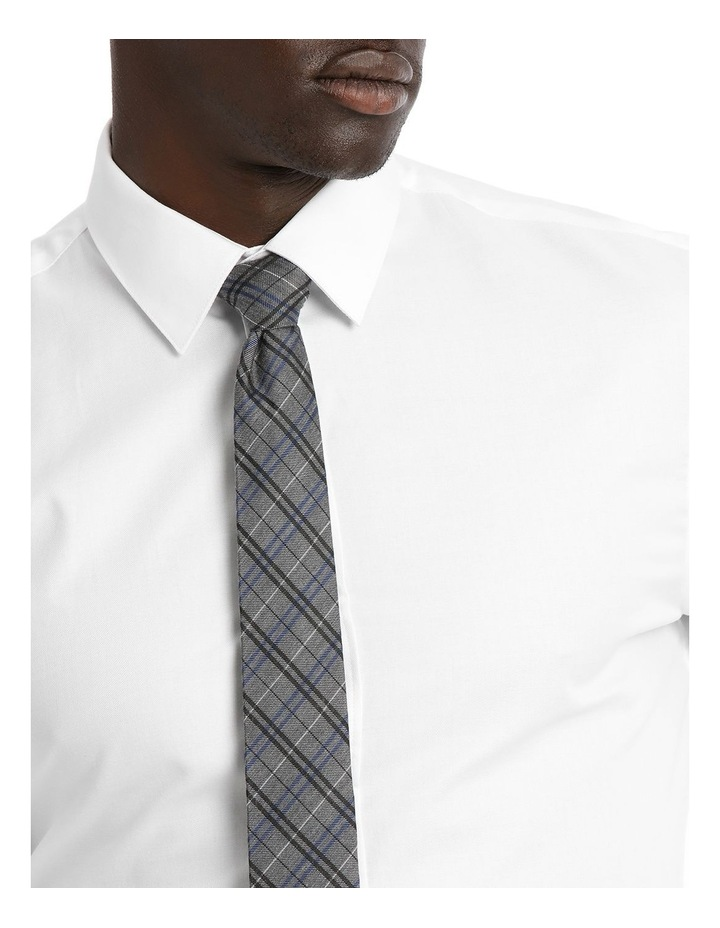Slim Fit White Twill image 4
