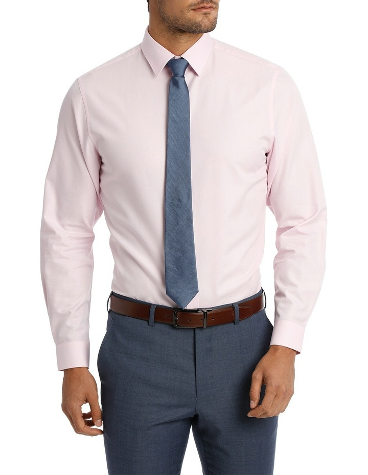 Tailored Fit Pink Twill image 2