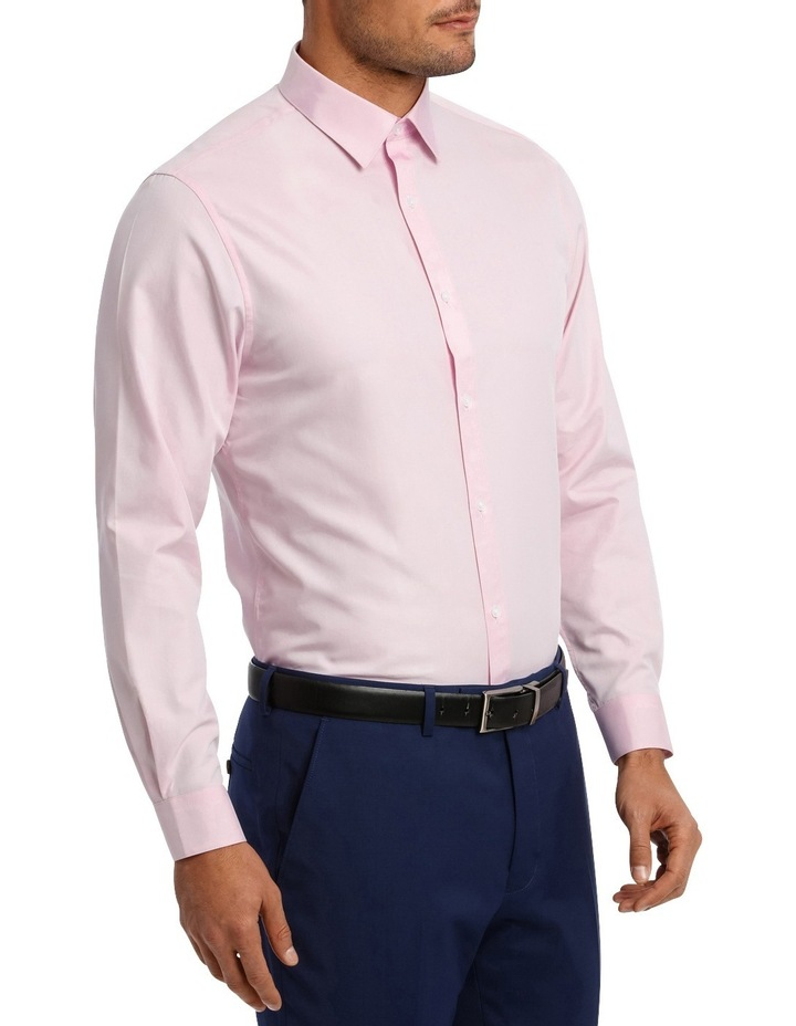 Tailored Fit Pink Twill image 3