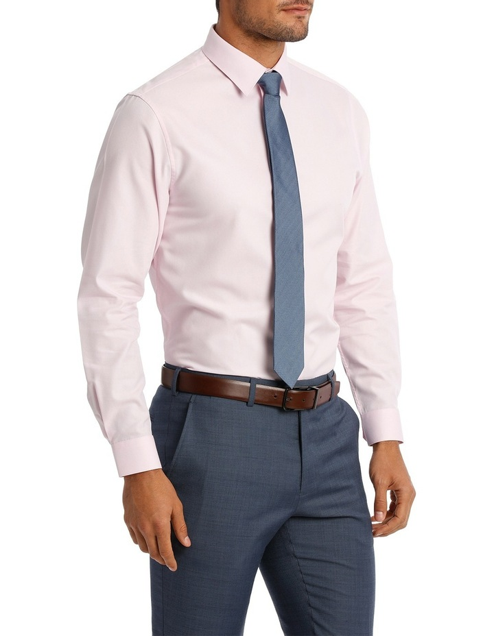 Tailored Fit Pink Twill image 4