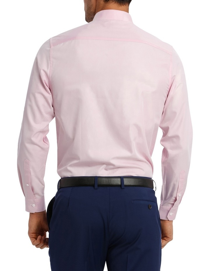 Tailored Fit Pink Twill image 5