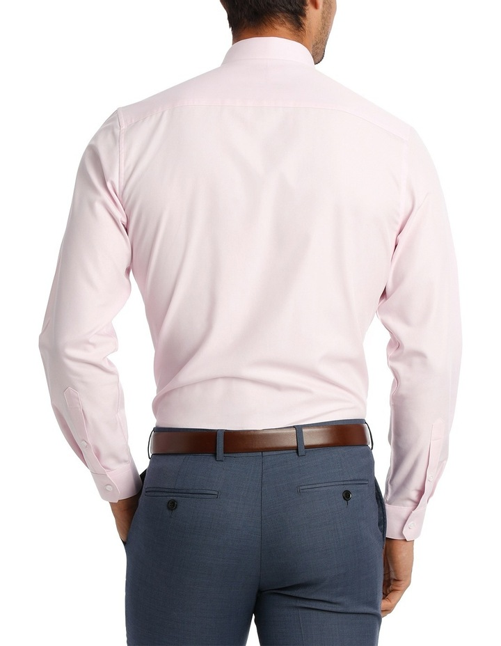 Tailored Fit Pink Twill image 6
