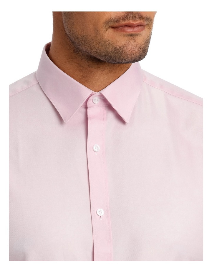 Tailored Fit Pink Twill image 7