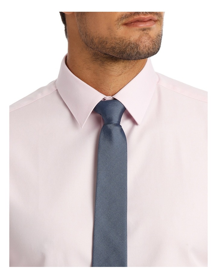 Tailored Fit Pink Twill image 8