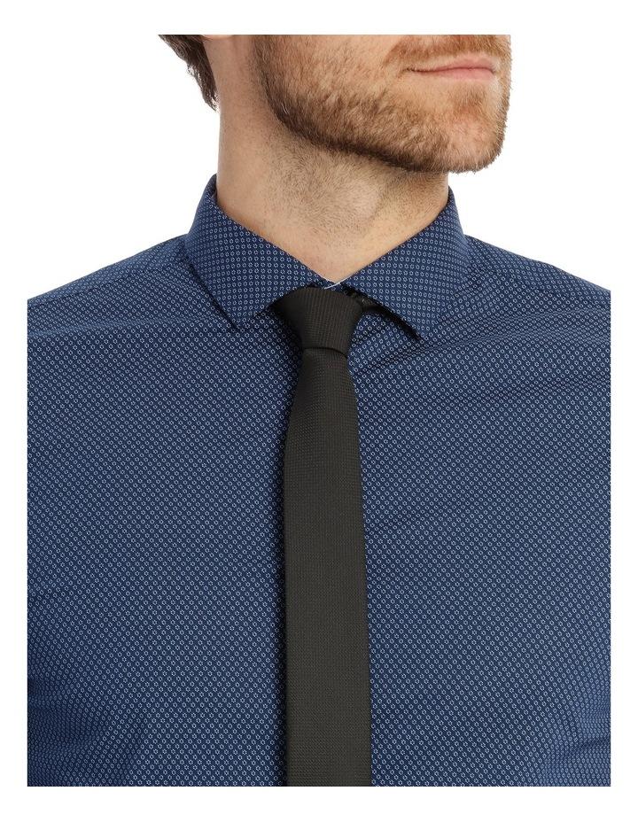 Slim Fit Flower Print Business Shirt image 4