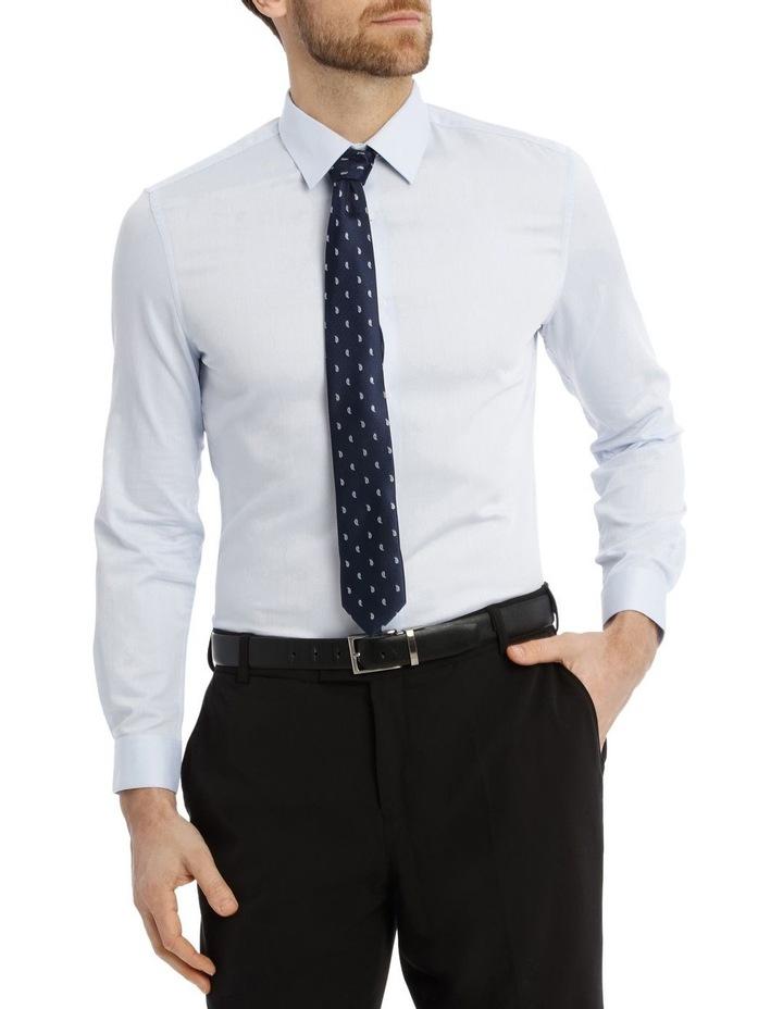 Slim Fit Diamond Texture Business Shirt image 1
