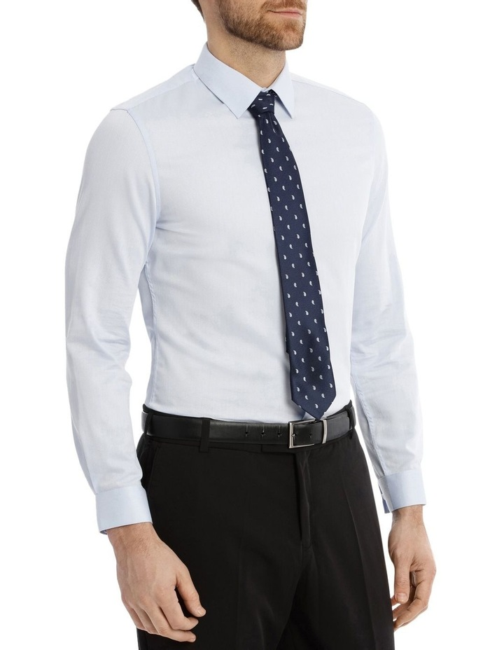 Slim Fit Diamond Texture Business Shirt image 2
