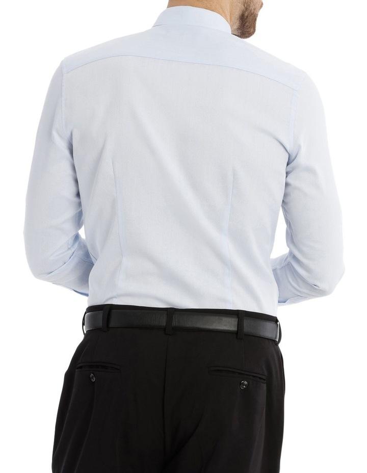 Slim Fit Diamond Texture Business Shirt image 3