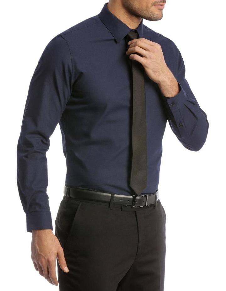Slim Fit Twill Business Shirt image 4
