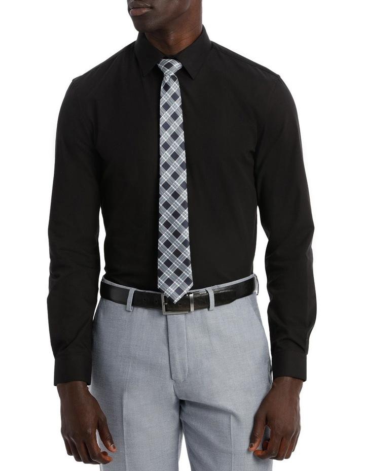 Slim Fit Black Twill image 2