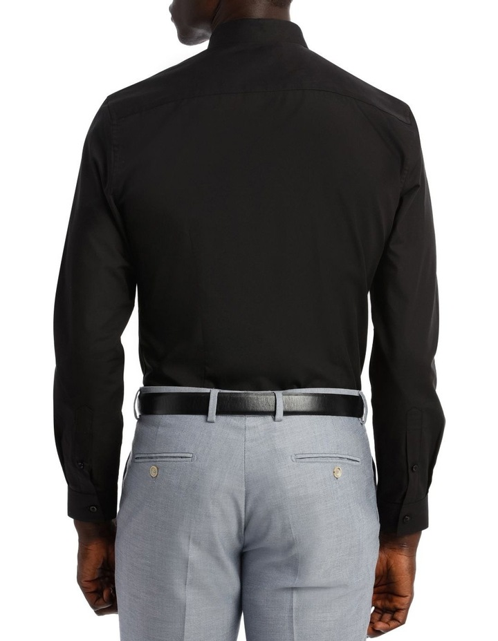 Slim Fit Black Twill image 6