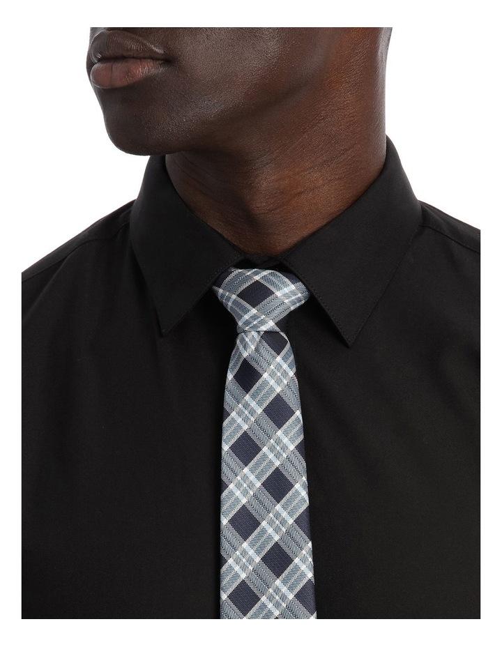Slim Fit Black Twill image 8