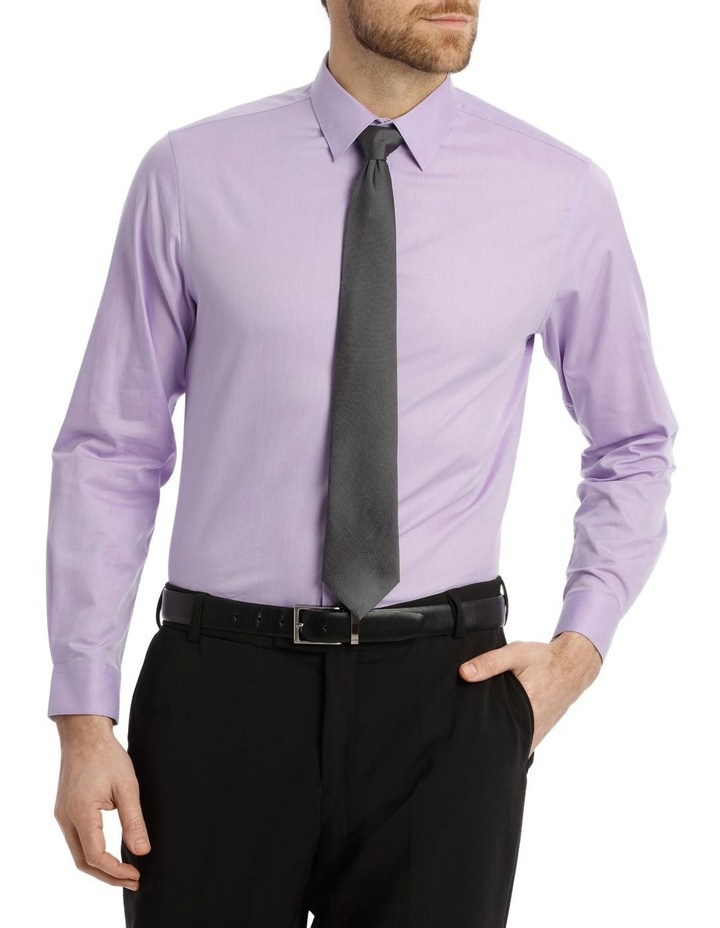 Tailored Fit Lilac Twill image 2