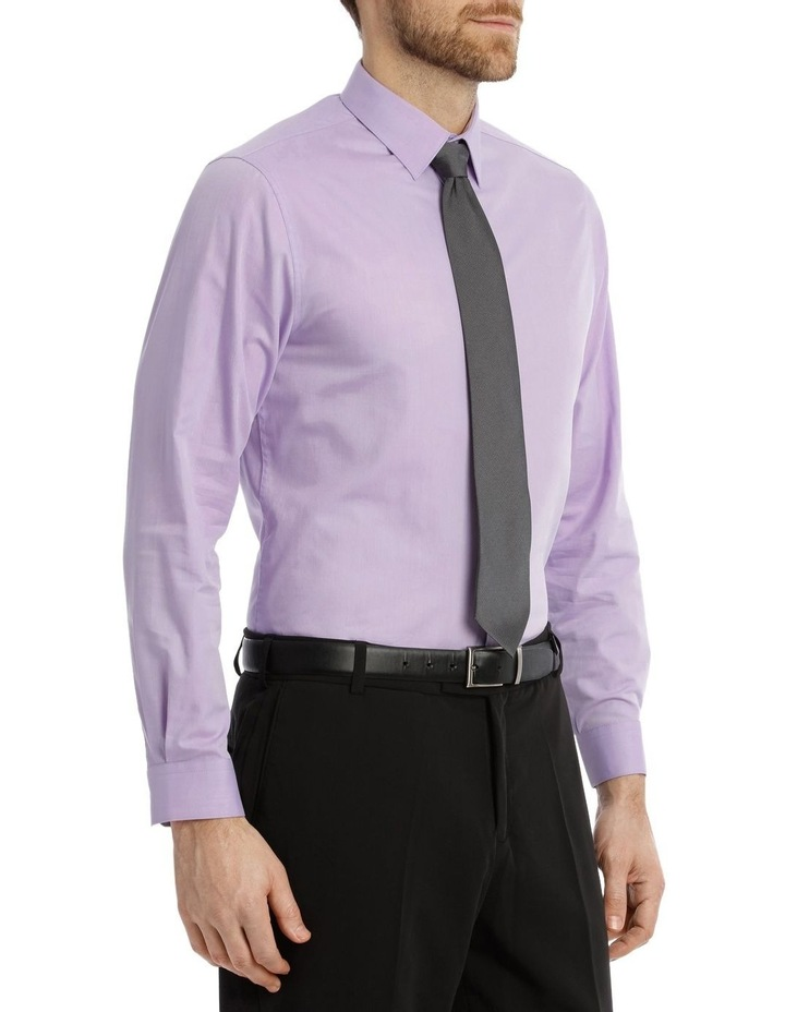 Tailored Fit Lilac Twill image 4