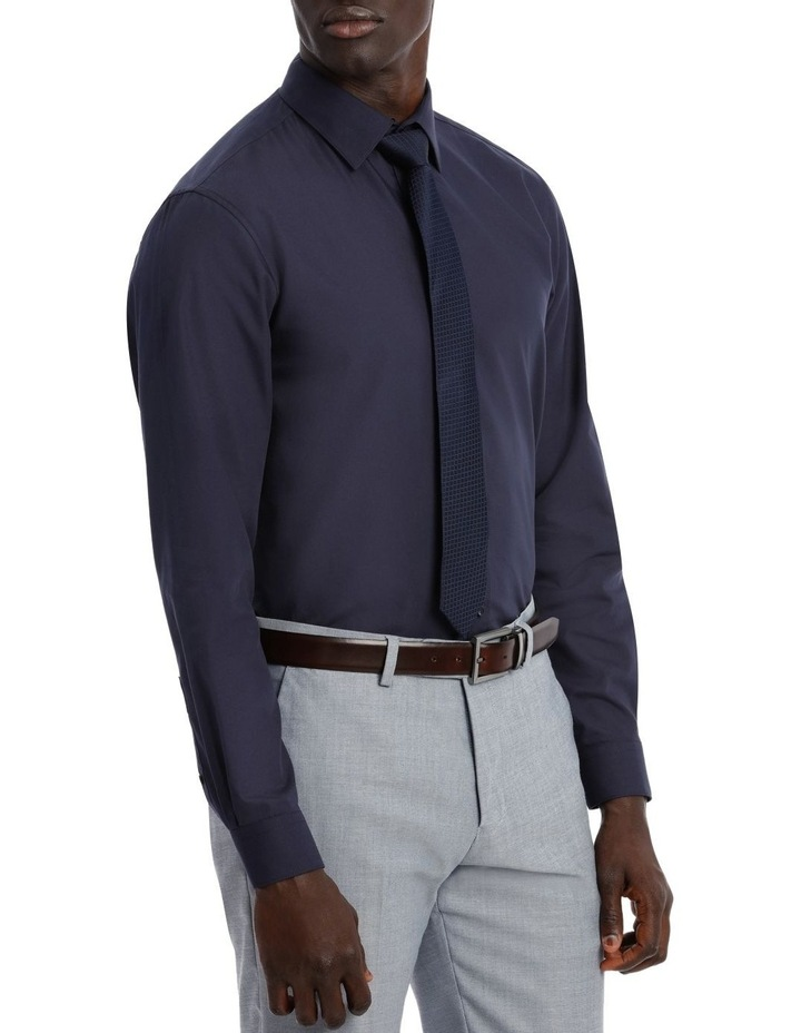 Tailored Fit Navy Twill image 4