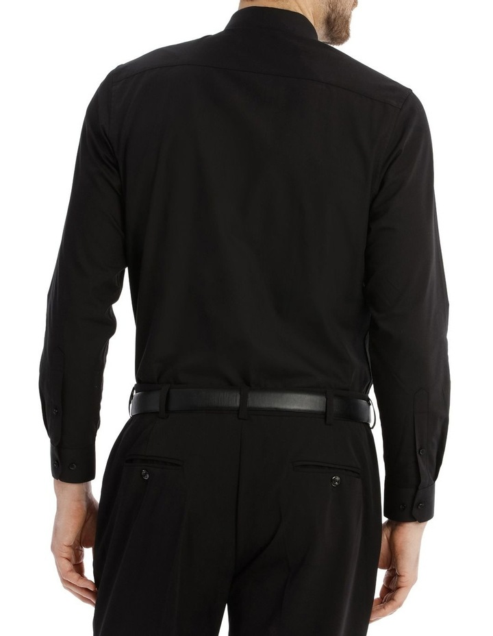 Tailored Fit Black Twill image 6