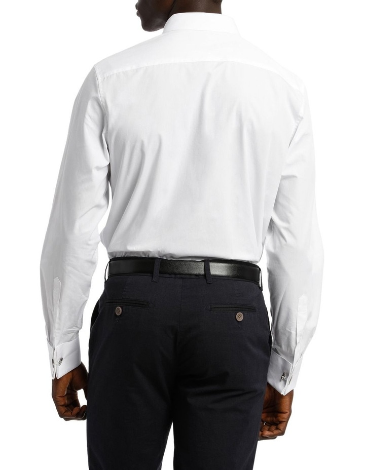 Tailored Fit Pleat Front Dress Shirt image 6