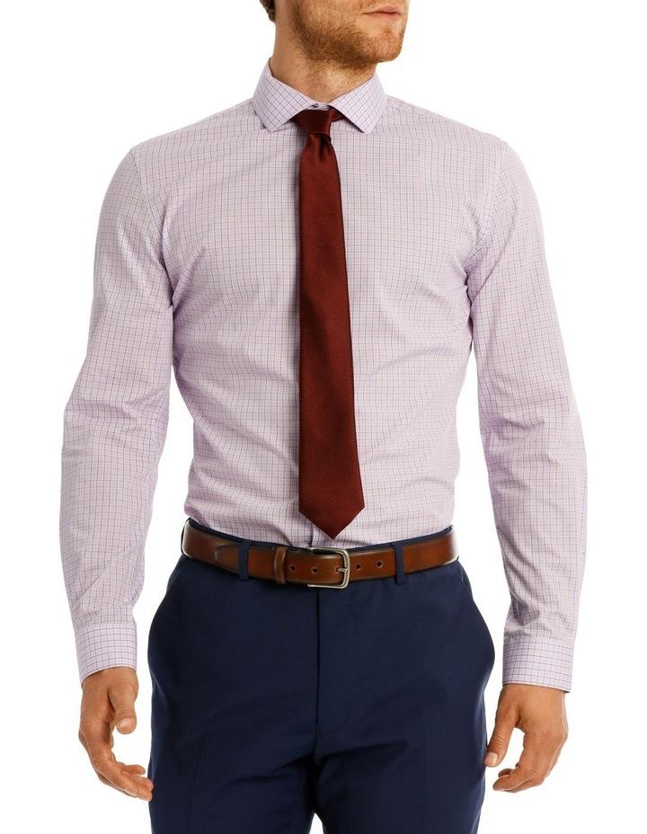 Slim Fit Blue Overcheck image 1