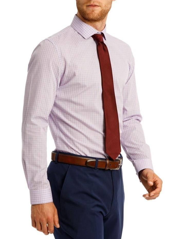 Slim Fit Blue Overcheck image 2
