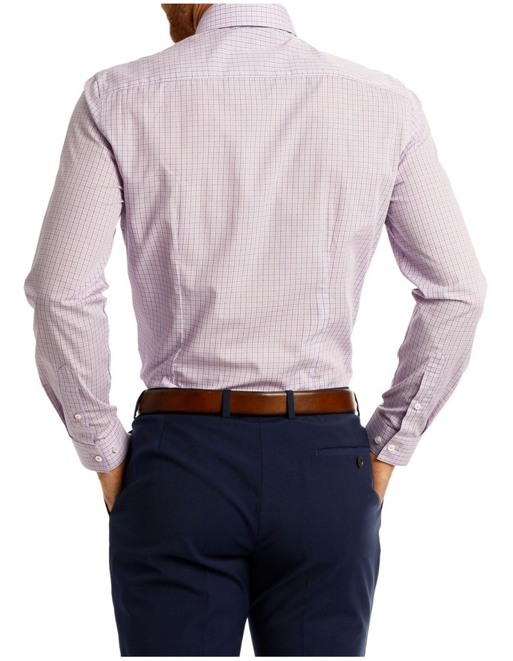 Slim Fit Blue Overcheck image 3