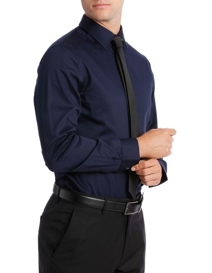 BLAQ SLIM FIT BSHW19001 NAVY COTTON STRETCH image 2