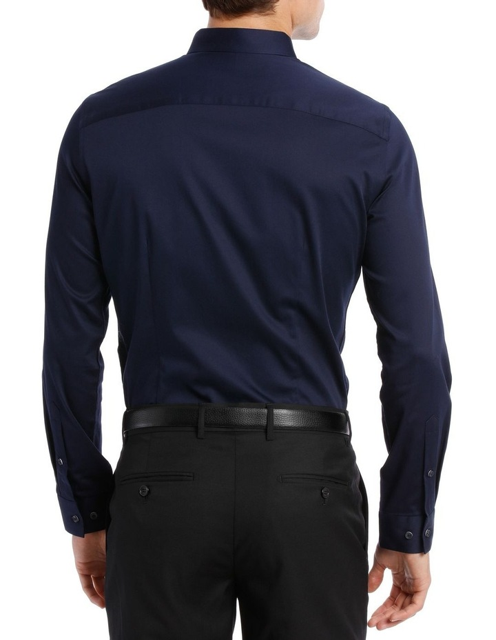 BLAQ SLIM FIT BSHW19001 NAVY COTTON STRETCH image 3