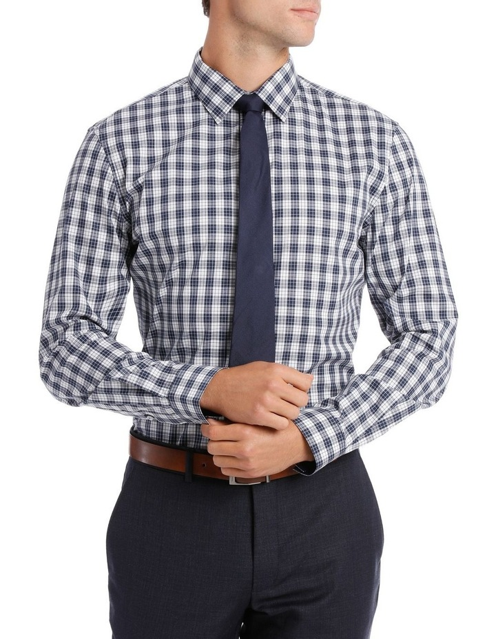 Slim Fit Navy Check image 1
