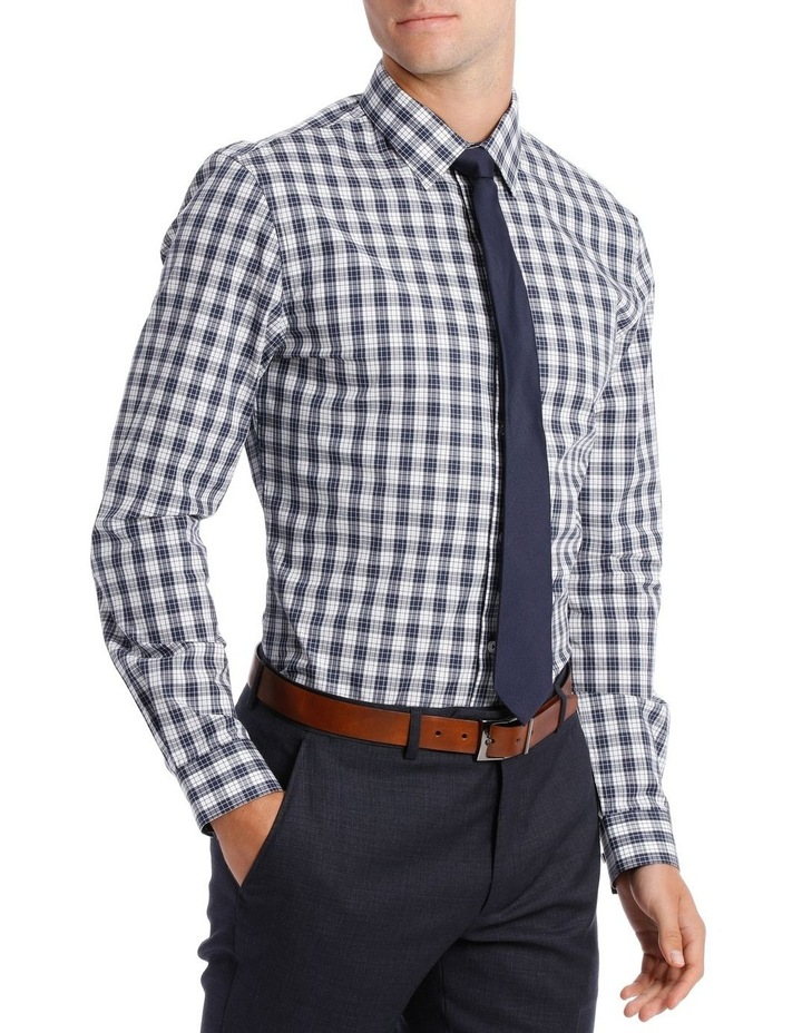Slim Fit Navy Check image 2