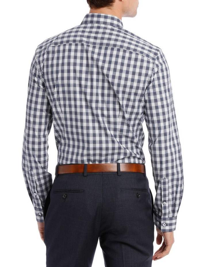 Slim Fit Navy Check image 3