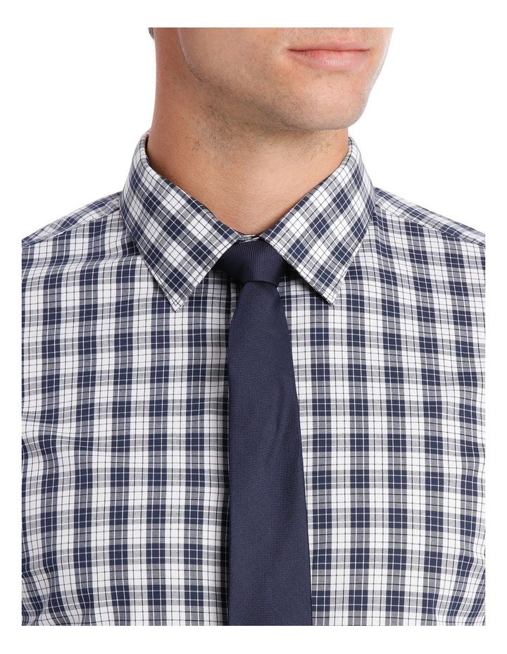 Slim Fit Navy Check image 4