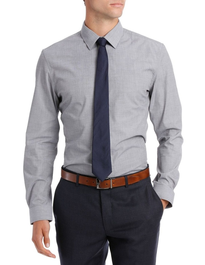Slim Fit Hot Price Grey End On End image 1