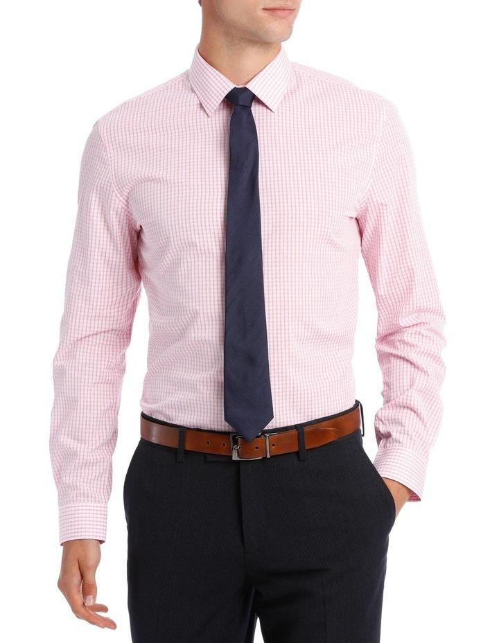 Slim Fit Hot Price Pink Check image 1